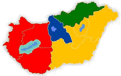 Programok régiók szerint
